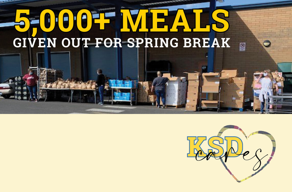Over 5,000 meals given out for spring break