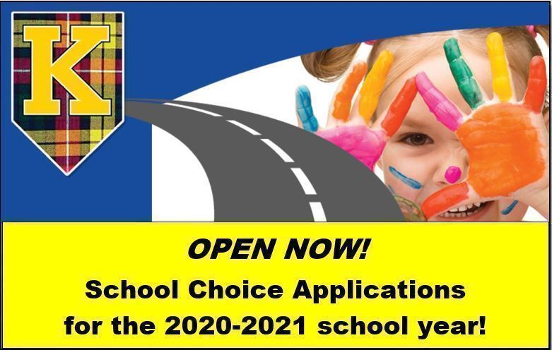 School Choice Applications--Open Now!
