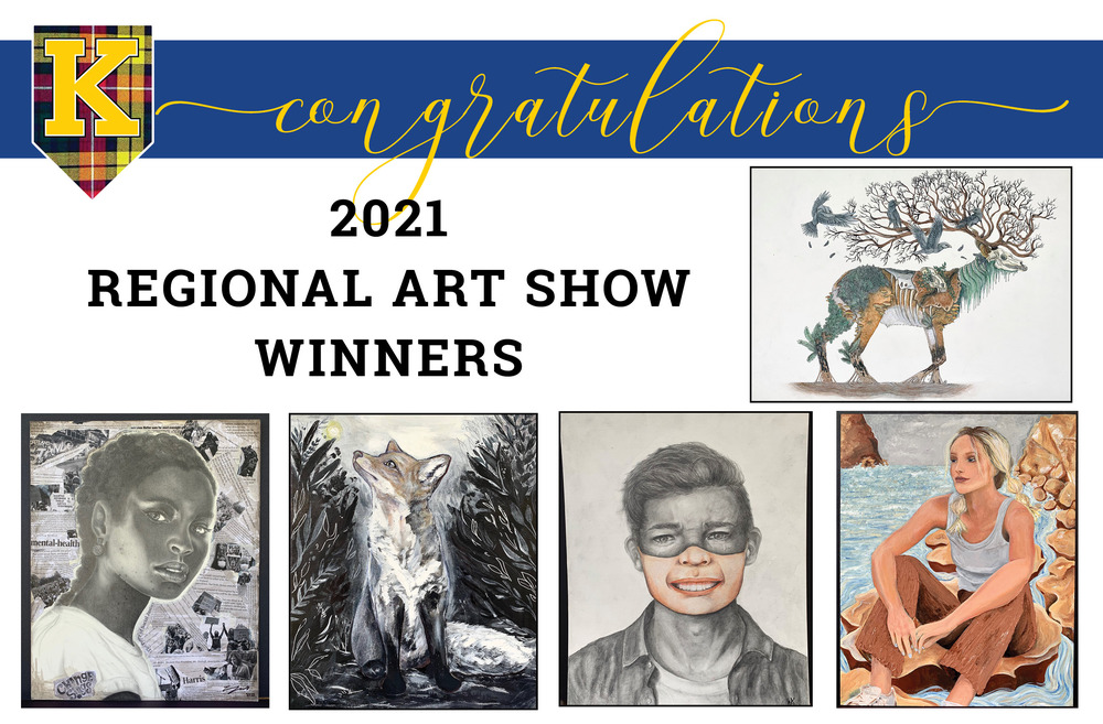 2021 Regional Art Show Winners