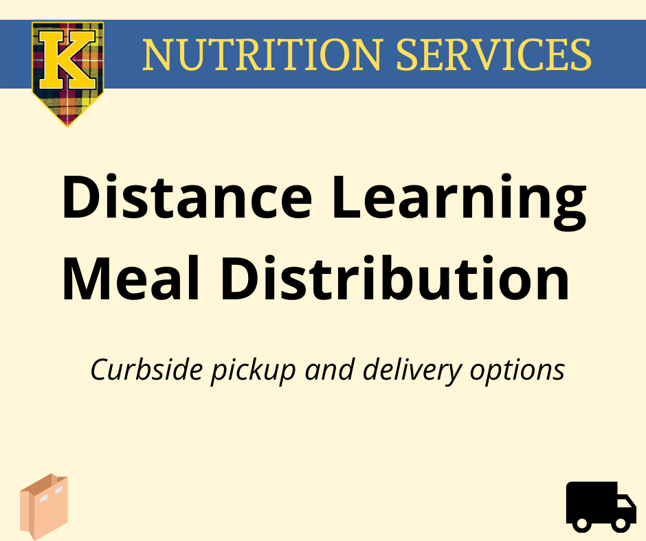 Distance Learning Meal Distribution
