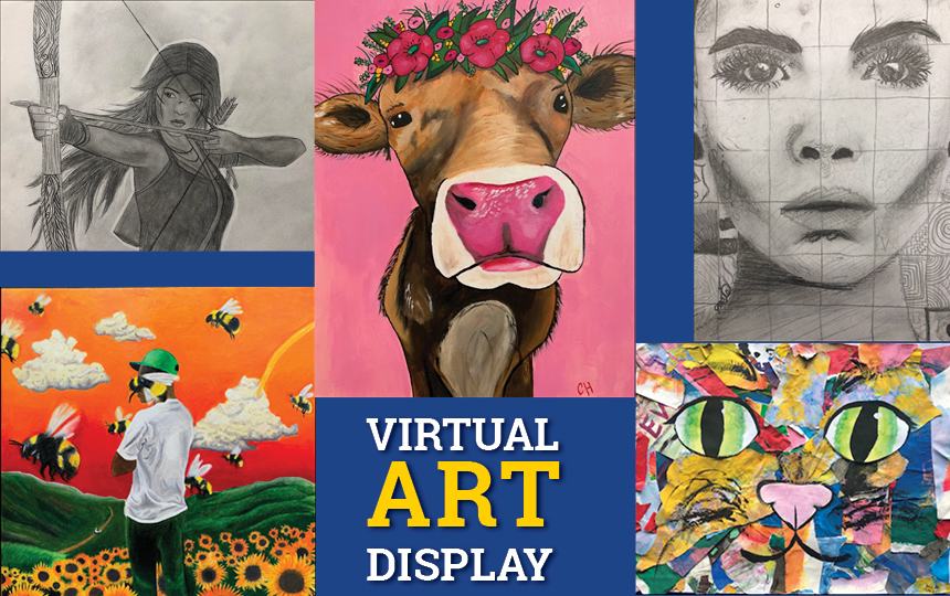Virtual Student Art Display