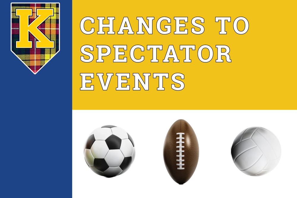 Exciting changes to spectator events