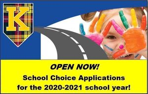 Kelso School District Choice Applications--Open Now!
