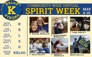 KELSO STRONG Virtual Spirit Week